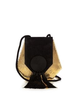 Saint Laurent | Opium 3 Classic Leather And Suede Shoulder Bag