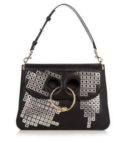 J.W. Anderson | Pierce Medium Embellished Leather Shoulder Bag