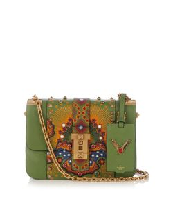 Valentino | B-Rockstud Leather Shoulder Bag