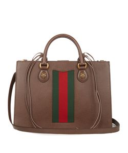 Gucci | Animalier Grained-Leather Tote
