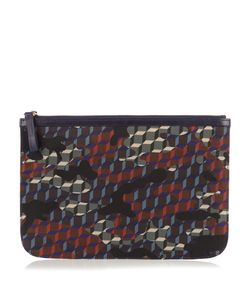 Pierre Hardy | Cube And Camouflage-Print Nylon Pouch