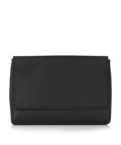 Balenciaga | Logo-Back Leather Pouch