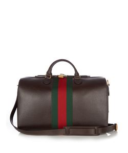 Gucci | Grained-Leather Holdall