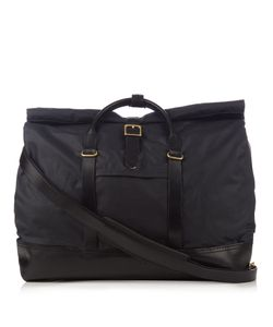 MALLE | Bruno Cotton Canvas Weekend Bag