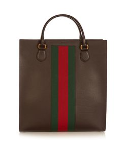 Gucci | Web-Panel Leather Tote