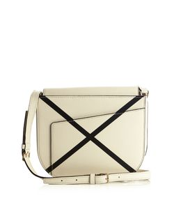 Valextra | Twist Leather Cross-Body Bag