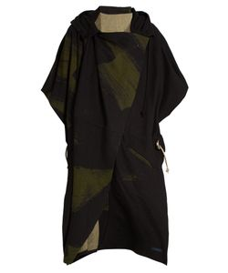 YOHJI YAMAMOTO REGULATION | Wool-Blend Hooded Cape