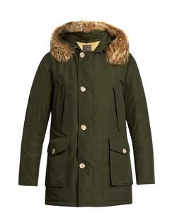 WOOLRICH JOHN RICH & BROS. | Arctic Fur-Trimmed Hooded Down Parka