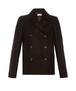 Balenciaga | Double-Breasted Wool-Blend Pea Coat