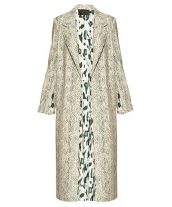 Calvin Klein Collection   Halliwell Leopard-Print Trench Coat