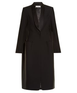 Balenciaga | Shawl-Lapel Single-Breasted Coat