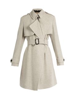 Burberry London | Leveson Cashmere Trench Coat