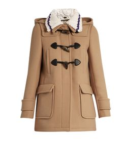 Miu Miu | Detachable-Collar Wool Duffle Coat
