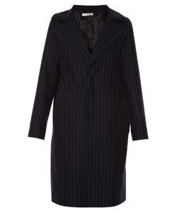 Golden Goose | Single-Breasted Pinstriped Coat