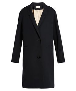 LEMAIRE | Single-Breasted Wool-Gabardine Coat