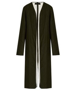 Haider Ackermann | Proud Collarless Quilted-Wool Coat