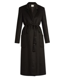 HILLIER BARTLEY | Tassel-Tie Cashmere Coat