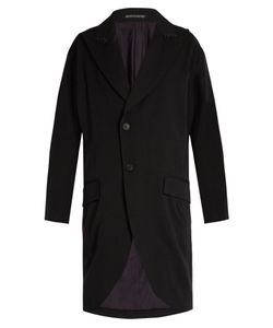 YOHJI YAMAMOTO REGULATION | Sketch-Print Oversized Wool Coat