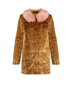 SHRIMPS | Fifiprint Faux-Fur Coat