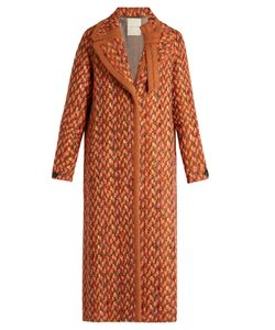 Marco De Vincenzo | Wool-Blend Tweed Coat