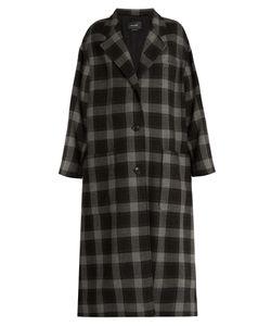 Isabel Marant | Ina Checked Wool Coat