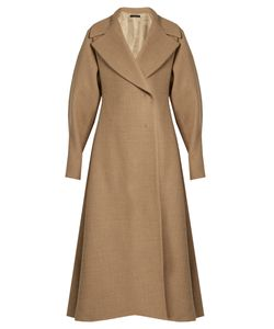 The Row | Laug Oversized-Lapel A-Line Coat