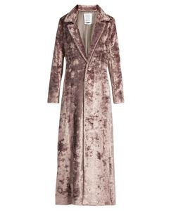 Rosie Assoulin | Notch-Lapel Velvet Coat