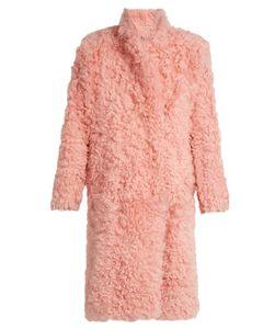 Preen By Thornton Bregazzi | Candy Curly-Shearling Coat