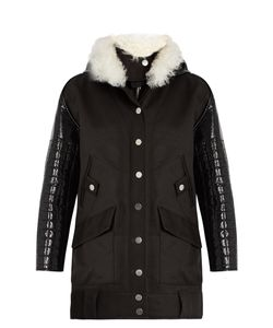 Courreges | Layered Cotton-Drill Parka