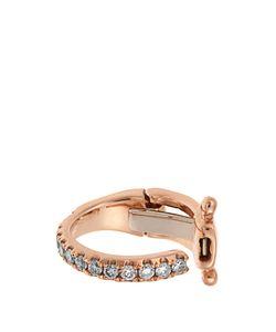 ELISE DRAY   Diamond Pinkmini Ear Cuff