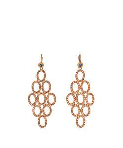 MAURIZIO PINTALDI | Diamond Ruby Sapphire Roseearrings