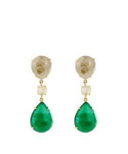 NSR NINA RUNSDORF | Diamond Emerald Yellowearrings