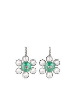 NSR NINA RUNSDORF | Diamond Emerald Whiteearrings