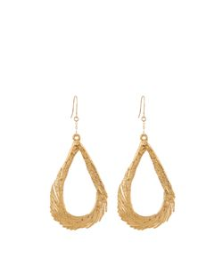Aurelie Bidermann | Swan Feather Yellowearrings