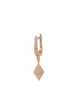 Diane Kordas | Diamond Rosekite Earring