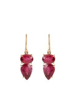 IRENE NEUWIRTH | Tourmaline Roseearrings