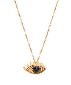 Delfina Delettrez | Diamond Sapphire Yellownecklace