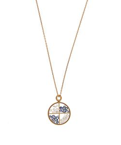 Aurelie Bidermann | Diamond Sapphire Yellownecklace