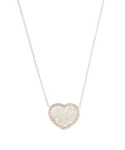 Susan Foster | Diamond Slice Whitenecklace