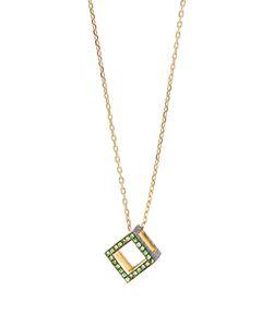 Noor Fares | Sapphire Tsavorite Necklace