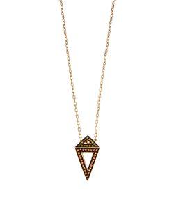 Noor Fares | Diamond Sapphire Ruby Necklace