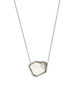 Susan Foster | Diamond Slice Whitenecklace