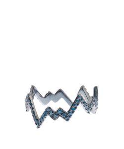 Diane Kordas | -Diamond Blackpop Art Ring