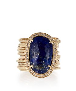 JACQUIE AICHE | Diamond Lapis Yellowring