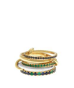 SPINELLI KILCOLLIN | Atlas Emerald Sapphire Ring