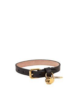 Alexander McQueen | Skull Charm Leather Bracelet