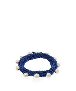 LUCY FOLK | Pearl Diver Crochet And Pearl Bracelet