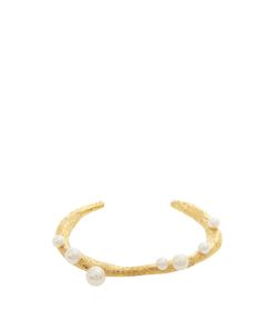 LUCY FOLK | Pearly Dough Pearl Andplated Cuff