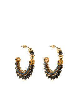 Etro | Bead-Embellished Hoop Earrings