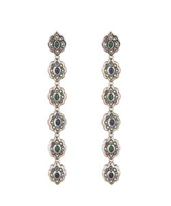 Gucci | Crystal And Palladium-Plated Earrings